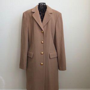 Gallery Carmel Wool Long Coat, Medium
